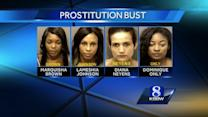 4 women arrested in Marina prostitution sting