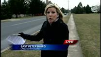 Woman charged in East Petersburg hit-and-run