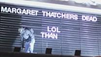 Margaret Thatcher's death 'celebrated' by ghouls