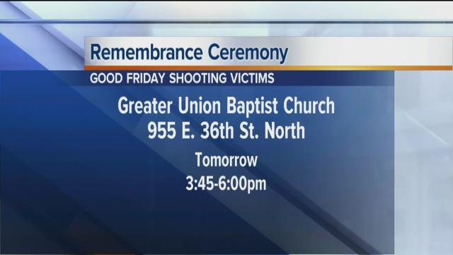 Good Friday Shooting Remembrance