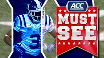Duke's Jamison Crowder Burns Defender For 59-Yard Touchdown | ACC Must See Moment