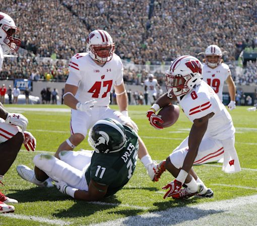 Domination: Wisconsin destroys Michigan State 30-6 in East Lansing