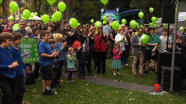 Hundreds march against GM foods