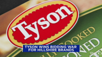Tyson wins food fight for Hillshire; Apple splits; A cup of coffee will cost more