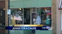 Tosa teen collects denim jeans to raise rape awareness