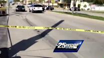 Raw video: Man shot in West Palm Beach
