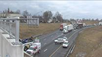 I-65, I-70 closed at split for repairs