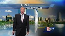 Mike's Thursday afternoon Boston-area forecast
