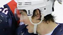 USA's Oshie Leads Shootout Victory Over Russia