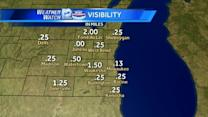 Dense Fog over southeastern Wisconsin this morning