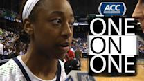Notre Dame's Jewell Loyd Talks About Advancing to ACC Championship   ACC One-On-One