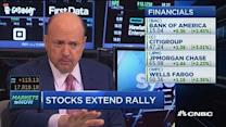 Cramer: Why financial are on a tear