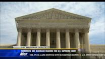 Gay marriage reaches the US Supreme Court Tuesday