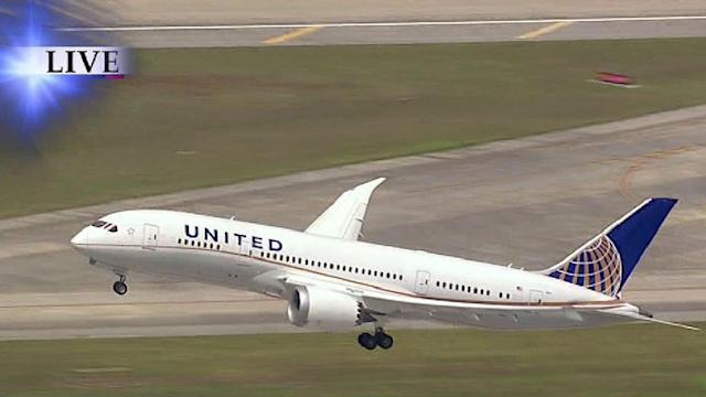 Dreamliner returns to skies today with flight from Houston