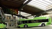 Hybrid Buses Generating 'Green'