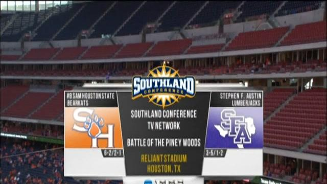 11/02/2013 Sam Houston State vs Stephen F. Austin Football Highlights