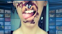 Woman Takes Face Paint to a Whole New Level