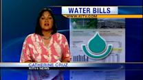 Customers share outrage over water bill