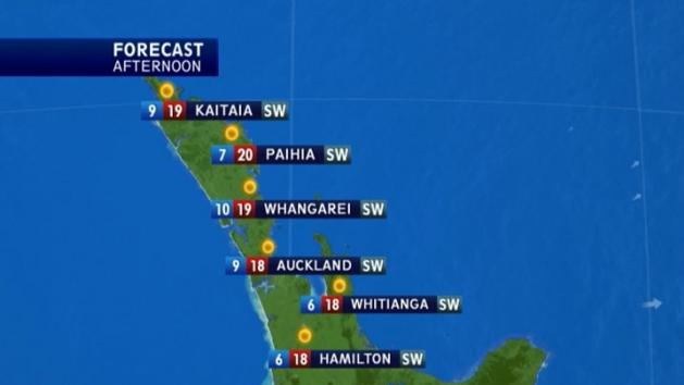 Midday Weather: October 11
