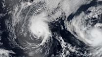 NASA images show Julio and Iselle storms barreling towards Hawaii