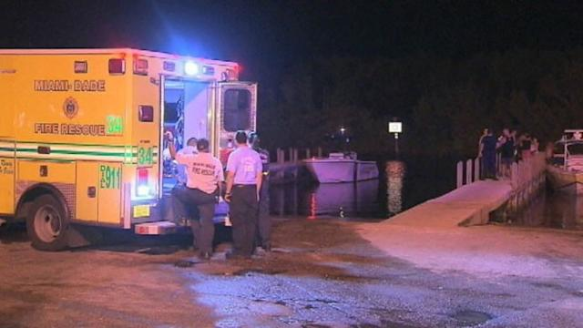 Nine People Injured After Boats Collide in Florida