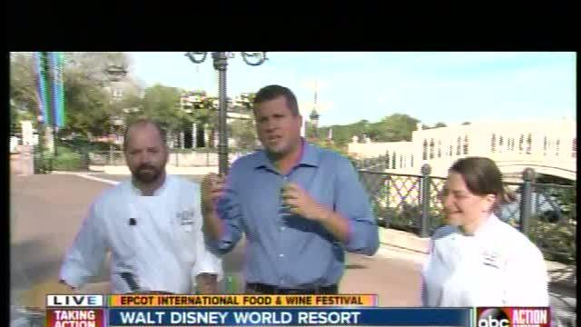 Special dishes at Epcot International Food & Wine Festival