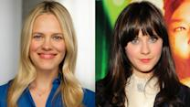 Beauty Icons - Zooey Deschanel's Natural-Looking Flushed Cheeks