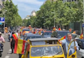 Cars Throng Madrid as Spain's Far-Right Vox Party Calls for Protest