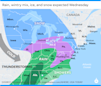 Huge winter storm moves east: Snow, sleet, heavy rain target 39 states