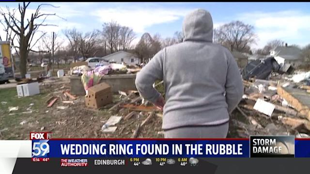 Woman Makes Unbelievable Find in Tornado Debris