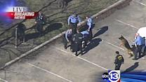 Suspect arrested after police chase