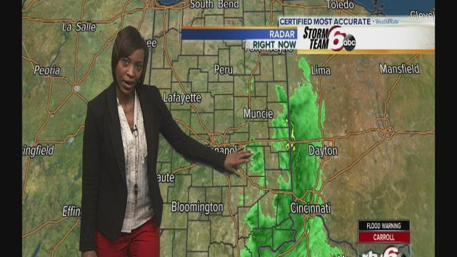 Friday Forecast: Cooler temps arrive as storms roll out