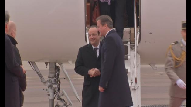 Cameron stresses importance of Anglo-French relations