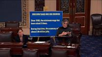 "Sen. Boxer: 50 cents used to be minimum wage – now it's ""a singing group"""