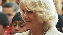 Camilla Charms Children On Royal Tour