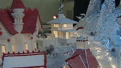 Architects Construct Massive Holiday Display