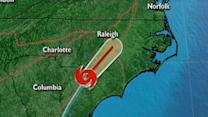 Tropical Storm Andrea hits North Carolina