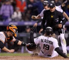 Rockies add to Giants pain with rare combination of home runs