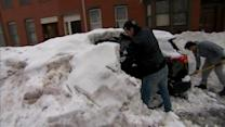 Boston on the cusp of breaking snow record