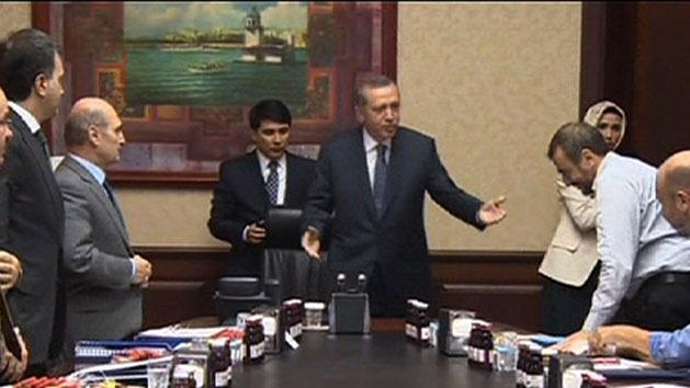 Turkey PM predicts end of protests