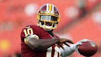 Does knee affect RG3's fantasy value?