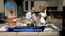 Love Chef cooks up apple-blueberry compote