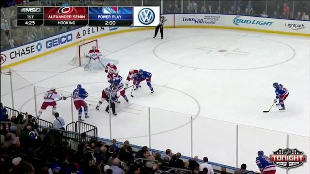 Carolina Hurricanes at NY Rangers Rangers - 04/08/2014