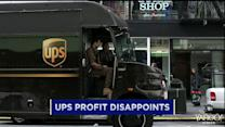 UPS delivers a profit miss; Darden CEO steps down; Herbalife tumbles