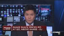 Shake Shack prices IPO at $21: DJ