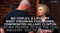 Hillary Clinton apologizes to laid-off coal miner for comments