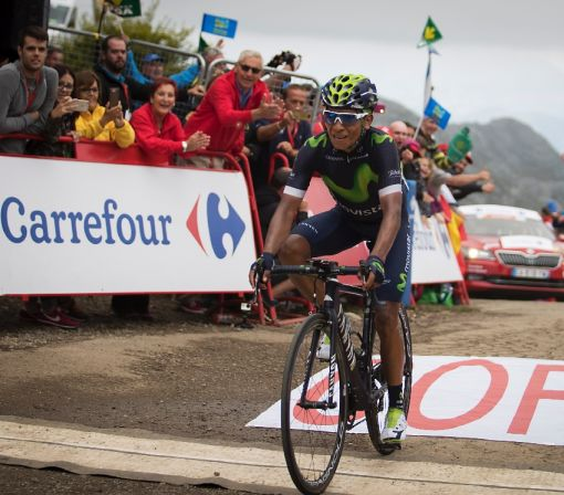 Quintana storms to stage 10 win, back in Vuelta lead