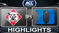 Davidson vs Duke | 2013 ACC Basketball Highlights