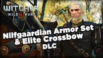 Nilfgaardian Armor Set and Elite Crossbow DLC - The Witcher 3: Wild Hunt 2K Gameplay