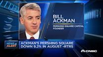 Ackman's Pershing Square down: RTRS